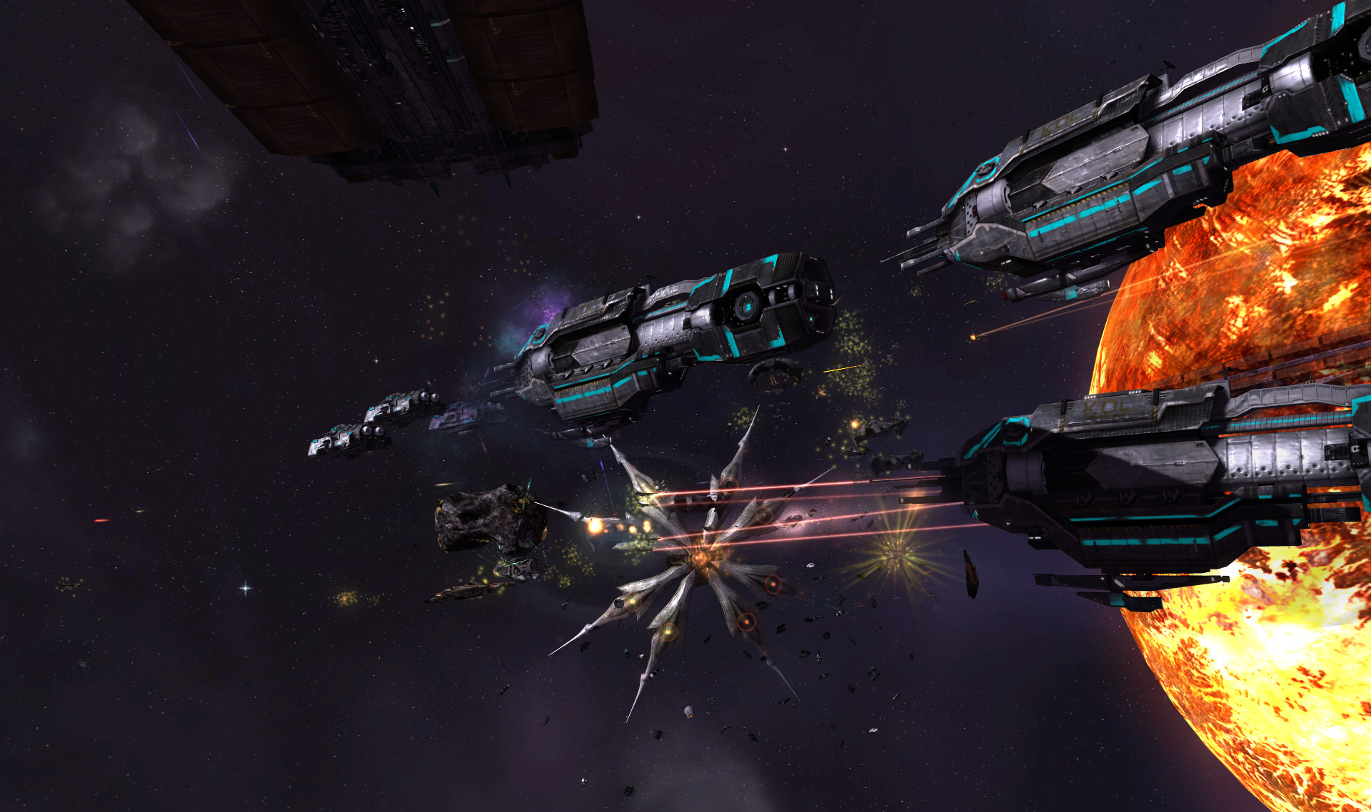 Download Sins of a Solar Empire Rebellion RELOADED
