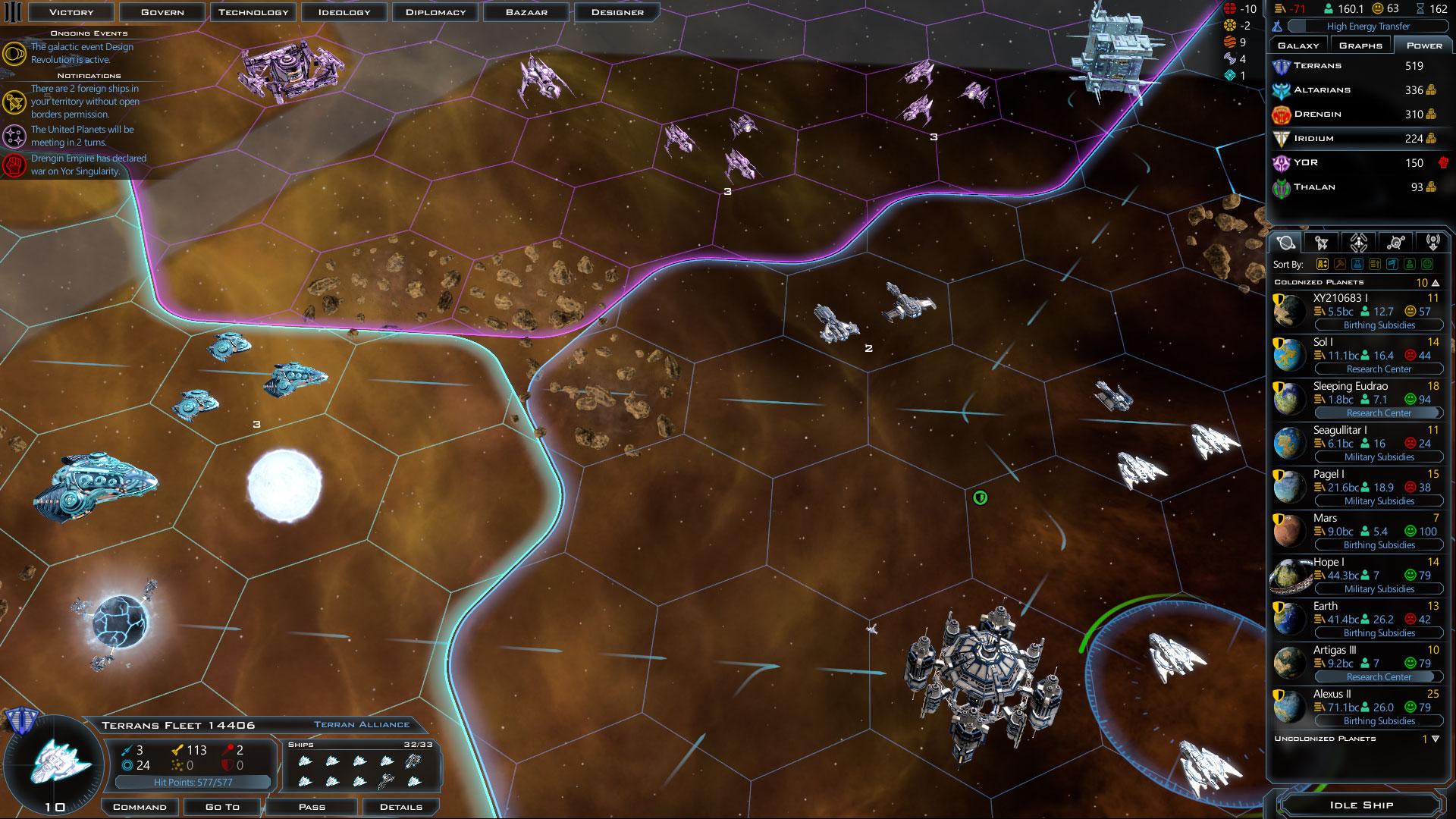 Store: Galactic Civilizations III